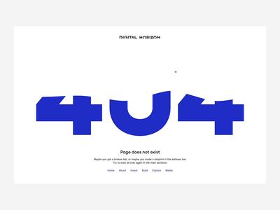 DH 404 desktop 404page 404 interface video web design interaction ux ui web animation