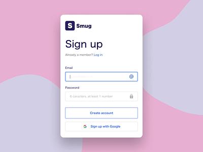 Sign up animation prototype illustration animation prototype ux design sign up interaction interface ux ui figmadesign figma