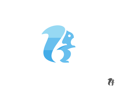 Squirrel Logo nuts brand identity app icon symbol mark animal logo icon logo squirrel