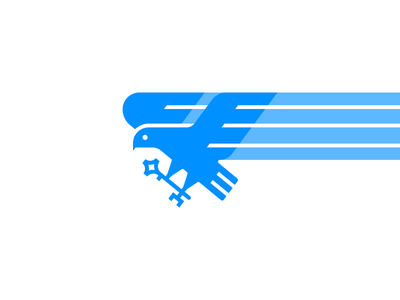 Eagle Logo key usa brand identity app icon mark animal logo icon logo eagle