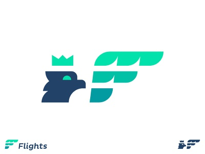 Eagle F Flight Mark brand digital marketing branding consult design bird wings fly symbol f for sale logo designer identity design eagle wing flight logo mark