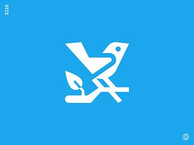 Little Bird Logo logo identity mark icon mascot bird wings fly symbol red for hire start-up company bp b logo start up logotype digital marketing desktop mobile app icon for sale visual corporate identity brand branding bird logo designer