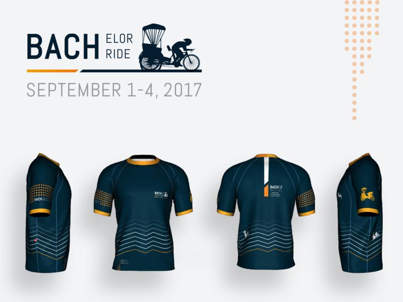 Triathlete Bachelor party triathlete athlete shirt design