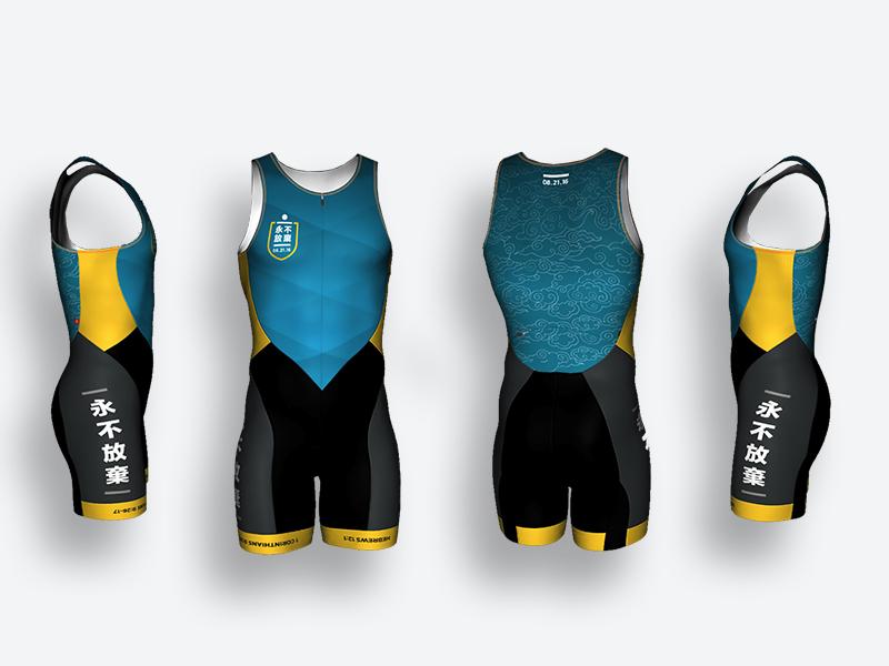 Ironman Triathlon Jersey endurance chinese ironman triathlete bib fitnees athlete design triathlon