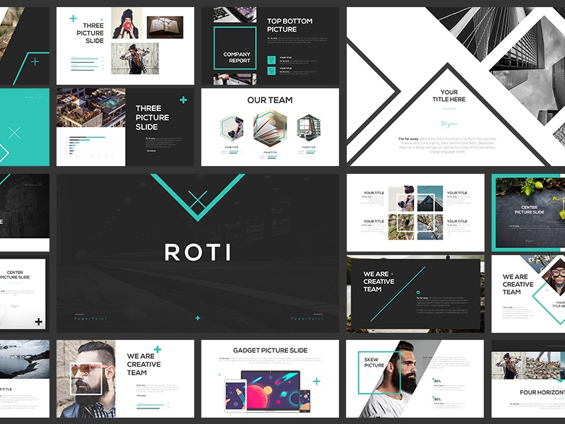 Roti Presentation Template By Bagus Budiyanto  Dribbble