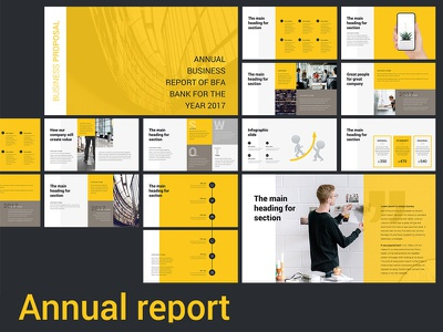 Annual Report Presentation template keynote annual report slide template powerpoint presentation
