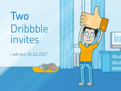 Dribbble Invite Giveaway invitations giveaway invite