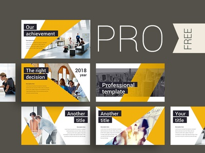 PRO presentation template illustration icon creative create annual report infographic template slide powerpoint presentation keynote
