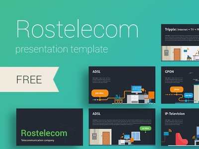 Rostelecom telecommunication presentation ux ui icons design illustration create icon infographic annual report slide template presentation powerpoint keynote