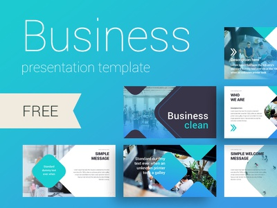 Business Clean presentation template ux ui brand design create icon annual report infographic slide template presentation powerpoint keynote