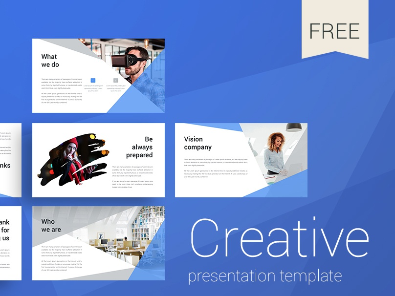 creative presentation template by alex dribbble dribbble