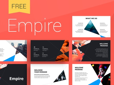 Empire presentation Template ux ui icons creative brand design icon create annual report infographic template slide presentation powerpoint keynote