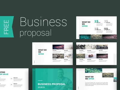 Proposal presentation Template ui design icon create annual report infographic slide template presentation powerpoint keynote
