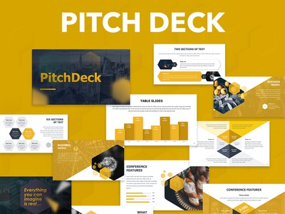 Pitch Deck Presentation template pitch deck pitchdeck creative annual report design template infographic presentation slide keynote powerpoint