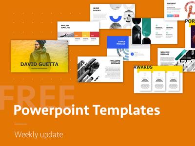 Free PowerPoint Presentation Templates logo annual report illustration creative branding icons design create keynote slide infographic template presentation powerpoint free