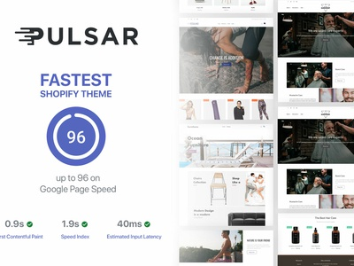 Pulsar - Fastest Shopify Theme
