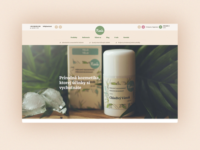 Navia - natural cosmetics online store web handmade natural cosmetics