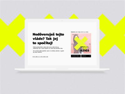 Nedoverujem.sk visual campaign