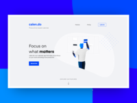Daily UI 003 - Landing Page