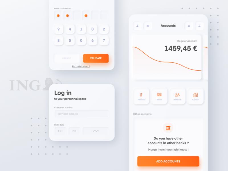 ING App Redesign