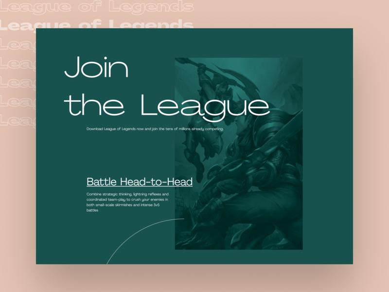 League of Legends Editorial Website