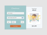 DailyUI Day 002 - Credit Card