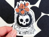 Astroskelly Sticker