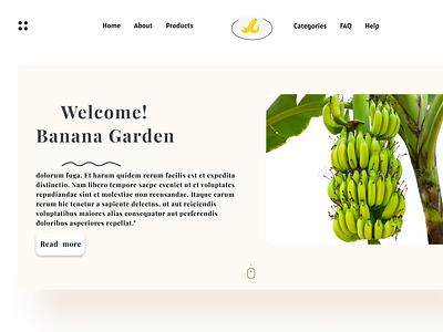 Banana Garden design