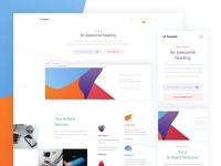 All-purpose landing page freebie
