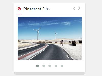 Pinterest Pins html css jquery carousel owl api pinterest