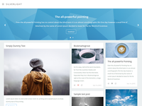 Silverlight - Tumblr Theme