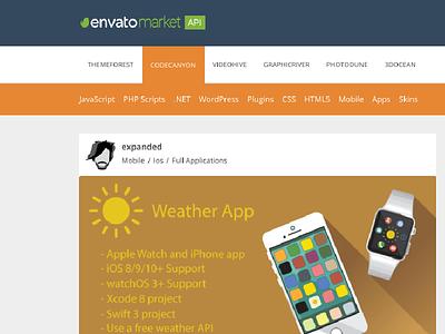Envato Market API jQuery Plugin html css envato api jquery
