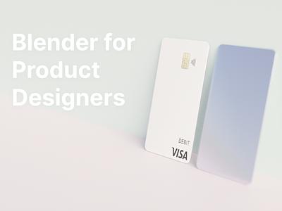 Blender for product designers tutorial tutorial 3d render 3d blender