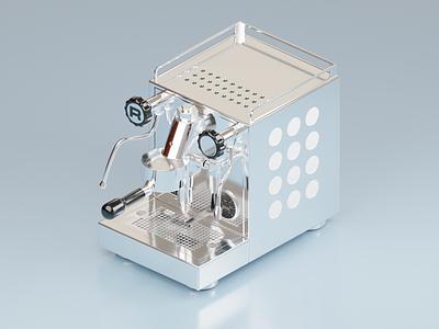 Espresso Machine espresso machine espresso coffee 3d render blender 3d