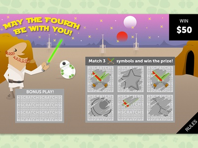 Scratch Card designs, themes, templates and downloadable