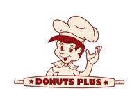 Donuts Plus Logo