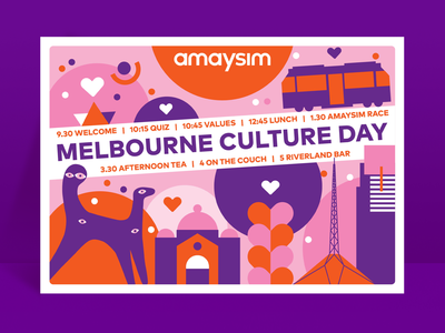Melbourne Culture Day Poster