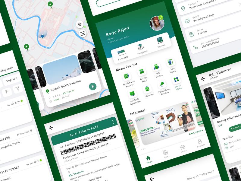 Redesign JKN Mobile mobile design app ui healthcare