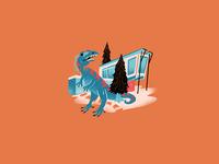 Mid Century Dinos - 02