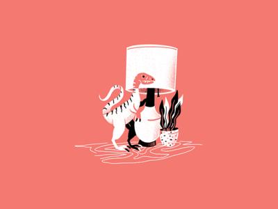 Mid-Century Dino - 07