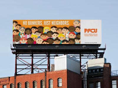 no bankers. just neighbors