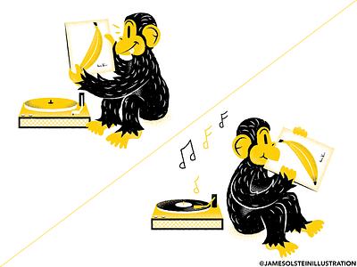 Monkey comic. illustrator monkeys andywarhol velvetunderground comic monkey texture editorial illustration editorial illustration