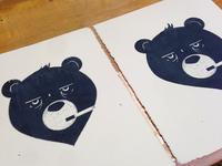 Smoke'n Bear Print