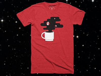 Rocket Fuel - Shirt cotton bureau space shirt coffee illustrated science science texture editorial illustration editorial illustration