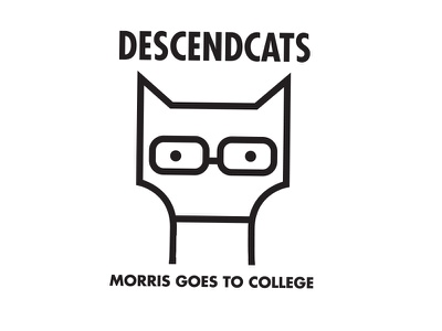 Descendcats illustration cat descendents punk rock
