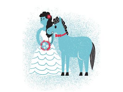 Logical Fallacies 05 horse wedding book illustration book editorial illustration editorial-illuatration editorial illustration