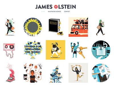 James Olstein 2017 Website update