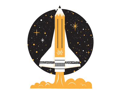 March For Science - Vote For Science Shirt rocket space pencil nasa vote for science march for science science illustration editorial illustration editorial science illustration