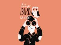 Bird Watch - sketchbook