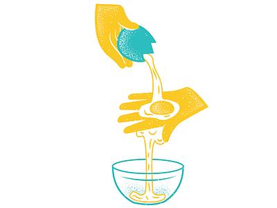 Feast Magazine June Issue 03 feastmagazine food egg magazine illustration magazine texture editorial illustration editorial illustration